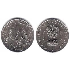 (5.3) India. 1956. ¼ Rupee (EBC+)