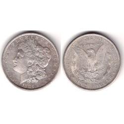 (110) Estados Unidos de América. 1886. 1 Dollar (MBC+) (Plata)