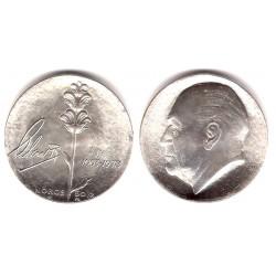 (424) Noruega. 1978. 50 Kroner (SC) (Plata)