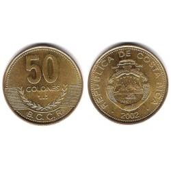 (231.1a) Costa Rica. 2002. 50 Colones (EBC+)