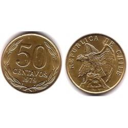 (206a) Chile. 1979. 50 Centavos (MBC+)
