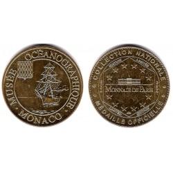 Medalla Museo Oceanográfico de Mónaco (EBC)