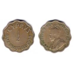 (20) Chipre. 1934. Half Piastre (MBC)