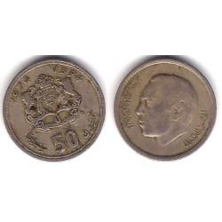 (Y62) Marruecos. 1974. 50 Santimat (BC)