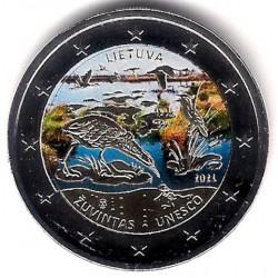 Lituania. 2021. 2 Euro (SC) Coloreada