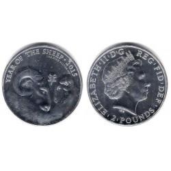 Gran Bretaña. 2015. 2 Pounds (SC) (Plata)