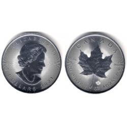 Canadá. 2021. 5 Dollars (SC) (Plata)
