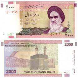 (144d) Irán. 2005-13. 2000 Rials (SC)