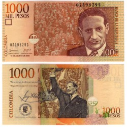 (456l) Colombia. 2009. 1000 Pesos (SC)
