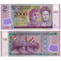 (228a) Paraguay. 2011. 2000 Guaranies (SC)