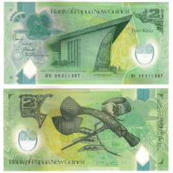 (28b) Papúa Nueva Guinea. 2008. 2 Kina (SC)