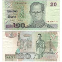 (109) Tailandia. 2003. 20 Baht (MBC+)