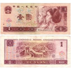 (884g) China. 1996. 1 Yuan (MBC)