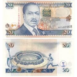 (35b) Kenia. 1997. 20 Shillings (SC)