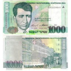 (50b) Armenia. 2001. 1000 Dram (SC)
