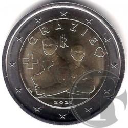 Italia. 2021. 2 Euro (SC)