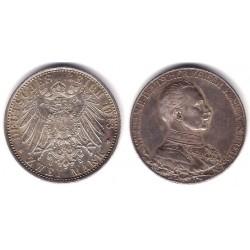 (533) Estados Alemanes. Prusia. 1913(A). 2 Mark (MBC) (Plata)