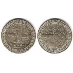 Casino Niagara. 1 Dollar Gaming Tioken (BC-)