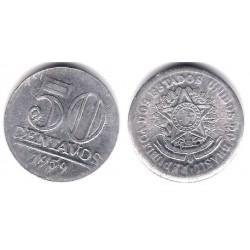 (569) Brasil. 1959. 50 Centavos (MBC)