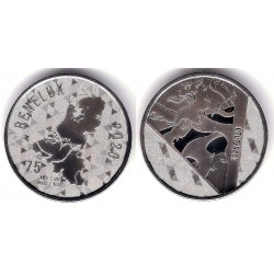Medalla Benelux 1945-2020. 75 Aniversario (SC)