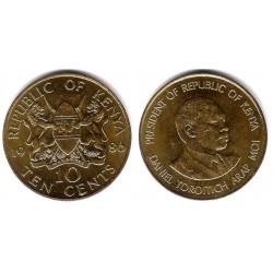 (18) Kenia. 1986. 10 Cents (SC)
