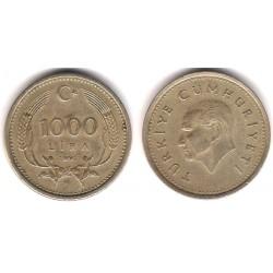 (997) Turquía. 1991. 1000 Lira (BC)