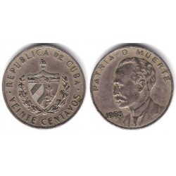 (31) Cuba. 1968. 20 Centavos (MBC-)
