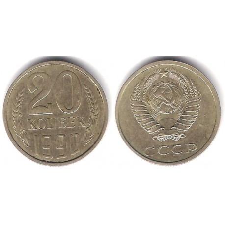(Y132) Unión Soviética. 1990. 20 Kopeks (MBC)