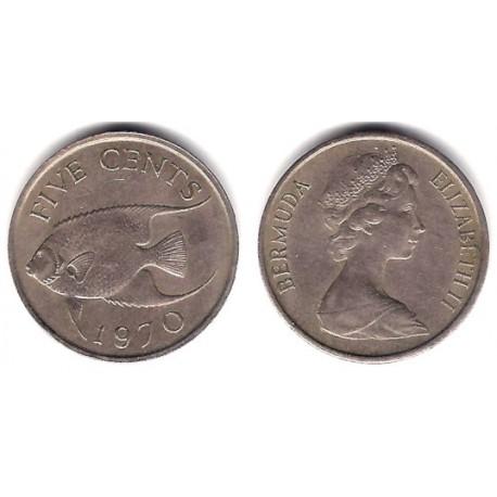 (16) Bermudas. 1970. 5 Cents (MBC)
