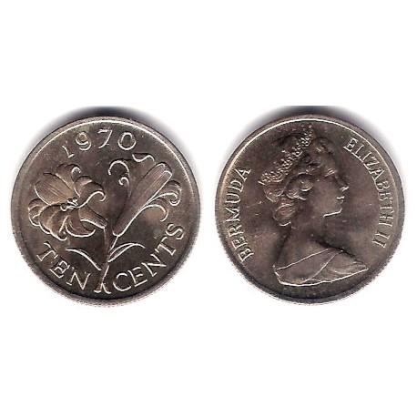 (17) Bermuda. 1970. 10 Cents (SC)