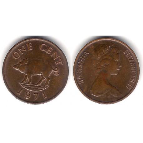 (15) Bermudas. 1971. 1 Cent (MBC)