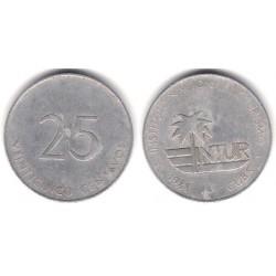 (419) Cuba. 1988. 25 Centavos (BC-)