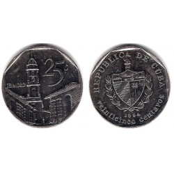 (577.1) Cuba. 1994. 25 Centavos (MBC+)