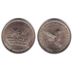 (415.3) Cuba. 1989. 10 Centavos (EBC)