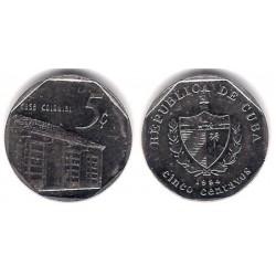 (575.1) Cuba. 1994. 5 Centavos (MBC)