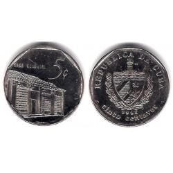 (575.2) Cuba. 1996. 5 Centavos (EBC)