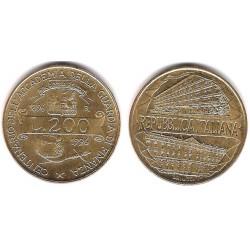 (184) Italia. 1996. 200 Lira (SC)