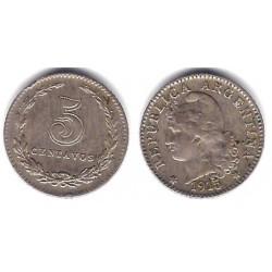 (34) Argentina. 1915. 5 Centavos (MBC-)