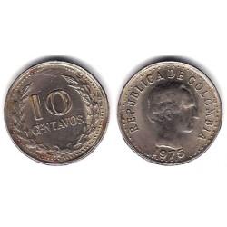 (253) Colombia. 1975. 10 Centavos (BC+)