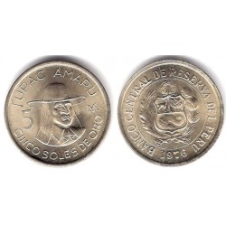 (267) Perú. 1976. 5 Soles (SC)