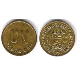 (266.1) Perú. 1976. 1 Sol de Oro (EBC+)