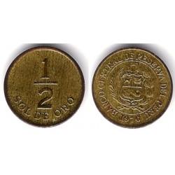 (265) Perú. 1976. ½ Sol de Oro (BC)