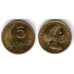 (223.2) Perú. 1956. 5 Centavos (EBC)