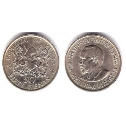 (13) Kenia. 1974. 50 Cents (MBC)