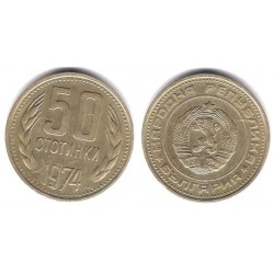(89) Bulgaria. 1974. 50 Stotinki (MBC)