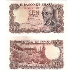 Estado Español. 1970. 100 Pesetas (SC) Serie 7P