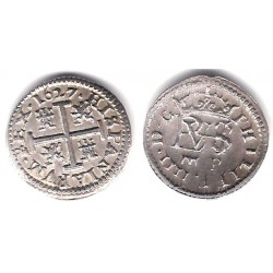Felipe IV. 1627. ½ Real (EBC) (Plata) Ceca de Segovia P