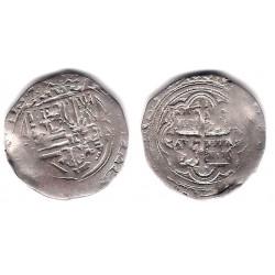 Felipe II. Sin Fecha. 1 Real (BC+) (Plata) Ceca de Mejico