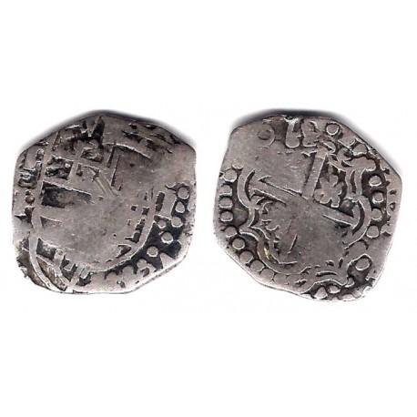 Felipe III. Sin Fecha. 1620. 1 Real (BC/BC+) (Plata) Ceca de Potosí P