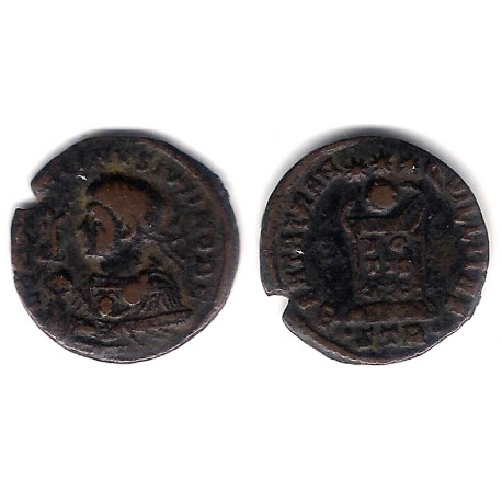 Constantino II. 337-340 d.C. Follis (BC+)
